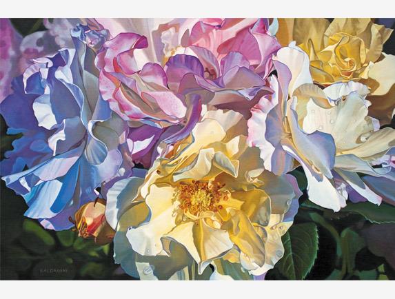 Paul Baldassini, 'Heirloom Alba Roses', 2018, Addison Art Gallery