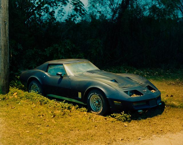 , 'Blue Corvette,' 2005-2018, Huxley-Parlour
