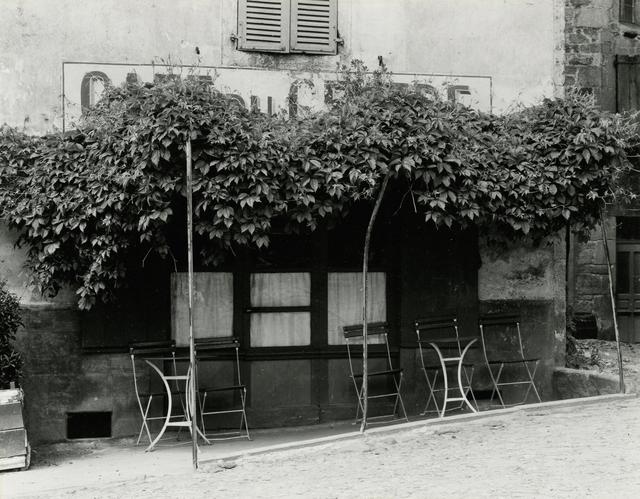 Paul Strand, 'Cafe under the Arbor, France', 1951, Howard Greenberg Gallery