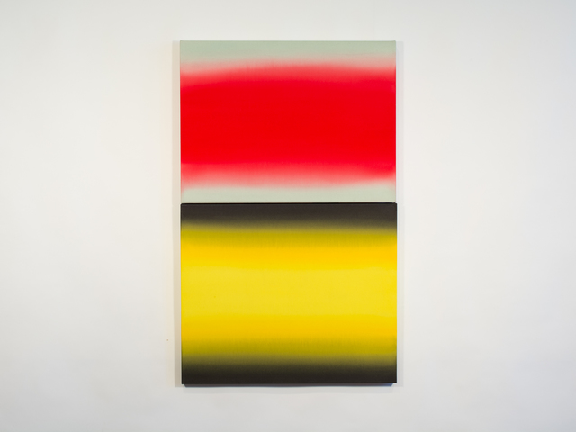 , 'Red and Yellow Absolutes,' 2016, Katherine Aungier + Alta Buden
