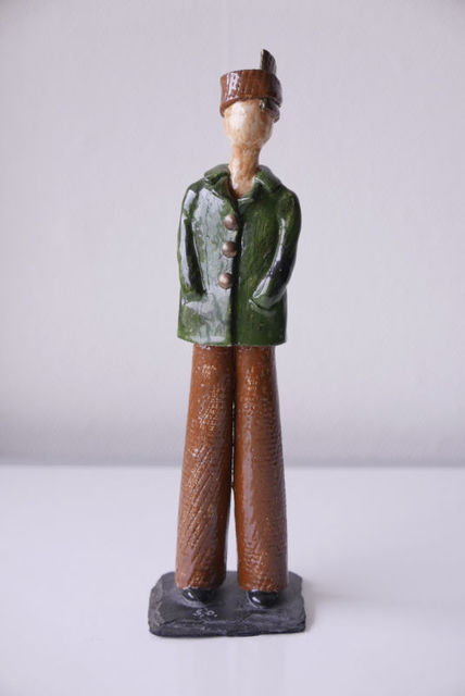 ", '""Untitled Figurine, 6/6"",' 1971, Travelogues Fine Art"