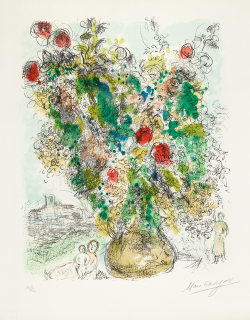 , 'Roses and Mimosa,' 1975, Galerie d'Orsay