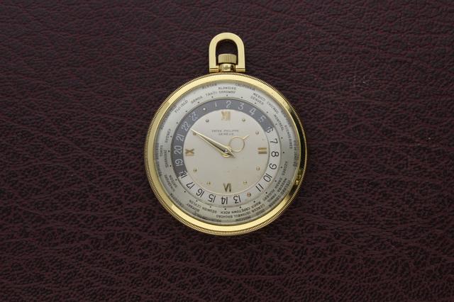 , 'Patek Philippe World Time Pocket Watch,' 1946, Somlo London