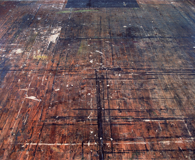 , 'Eastward View, Colin McCahon's Muriwai Studio Floor,' 2006, Sanderson Contemporary Art