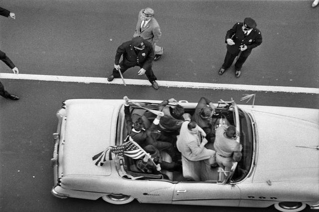 , 'Pro-Cuba demonstrators being restrained by police outside the Hotel Theresa in Harlem, New York. September 1960,' 1960, Sous Les Etoiles Gallery