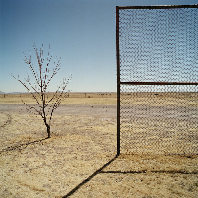 , 'Backstop. Marfa, Texas,' 2013, Barry Whistler Gallery