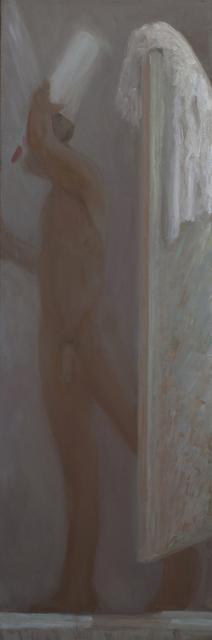 , 'Shower Left,' 2018, Rice Polak Gallery