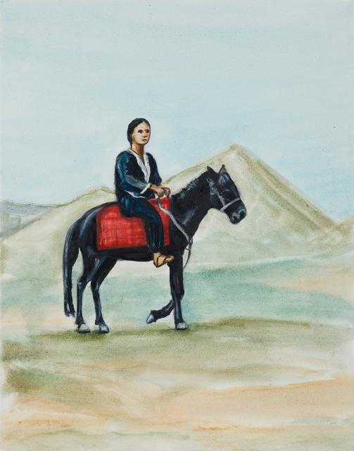Matthew Krishanu, 'Rider', 2018, Painting, Oil on canvas, Jhaveri Contemporary