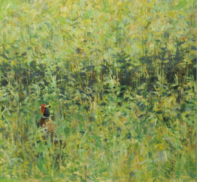 , 'Summer Ring-necked Pheasant,' , Jonathan Cooper, Park Walk Gallery