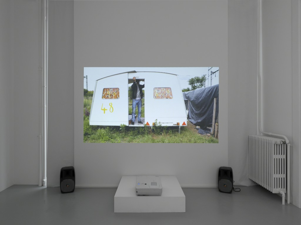 "Exhibition view, Bertille Bak, ""Bien arrivés. Temps Splendide."", Galerie Xippas, Geneva, Switzerland, 2017. ©Annik Wetter"