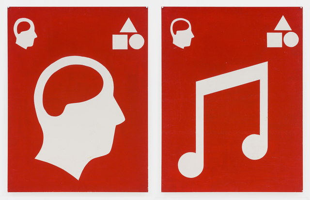 , 'Untitled (Signs),' 1981, Mai 36 Galerie