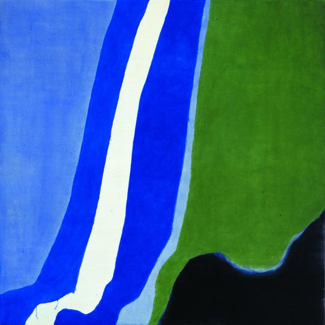 , 'Untitled (Post-Rome) Blue, Green, Black,' 1964, Peggy Guggenheim Collection