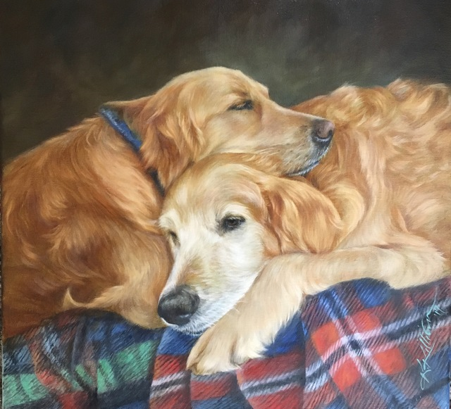", '""Make It a Double"",' 2017, Dog & Horse Fine Art"