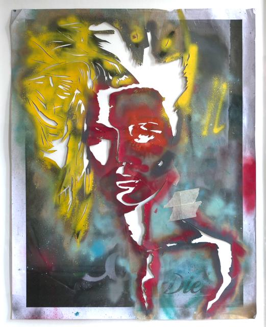 , 'Coke Diet Stencil,' 2014, Imitate Modern