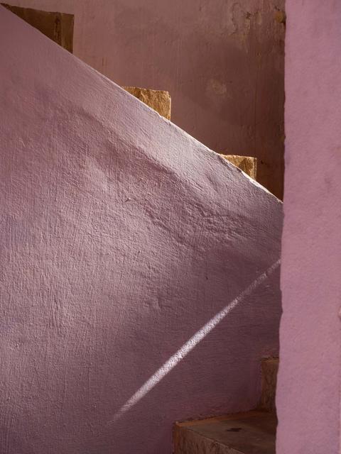 , 'Pink Stairway at Restaurant,' 2014, C. Grimaldis Gallery