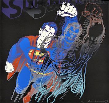 Andy Warhol, 'Superman (F&S.II.260)', 1981, Print, Screenprint on Lenox Museum Board, Robin Rile Fine Art