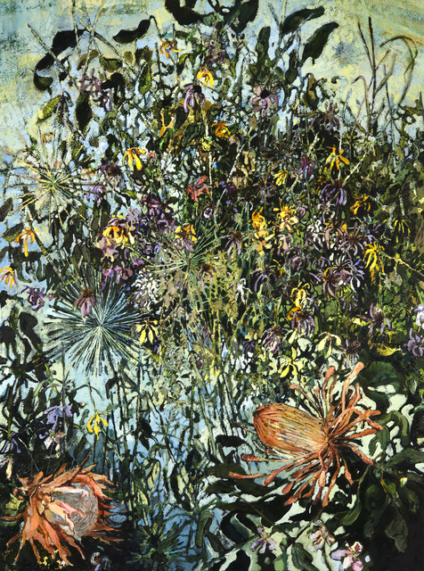 , 'Protea and Allium ,' 2017, J. Cacciola Gallery