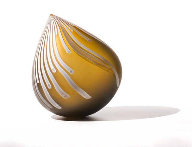 , 'Painted Bronze Droplet,' 2017, Michele Beiny Inc.
