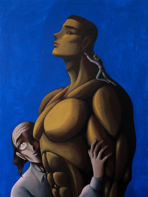 , 'Man Climber,' 2016, Simon Lee Gallery