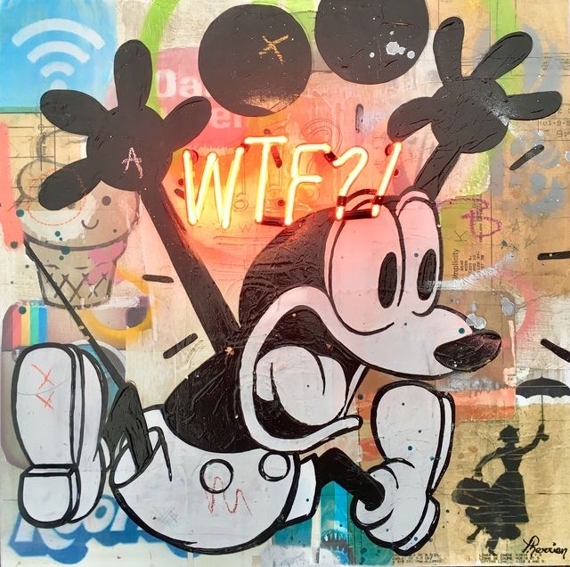 , 'WTF,' 2017, Galerie LeRoyer