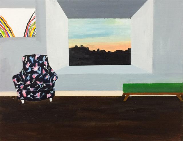 , 'Living Room with Morris Louis,' 2018, Tillou Fine Art
