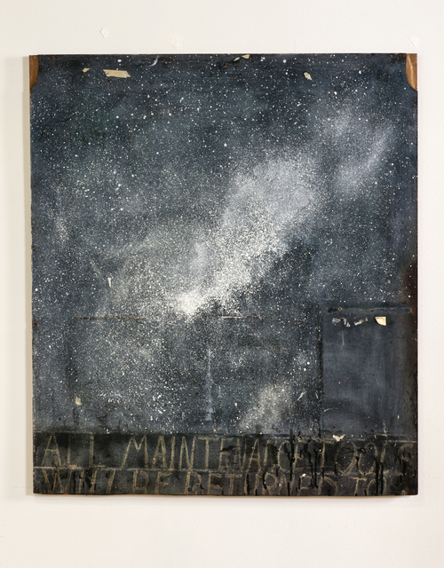 , 'All maintenance tools will be returned to,' 2013, Louis Stern Fine Arts