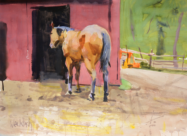, 'Horse and Red Home,' 2014, Gallery 1261