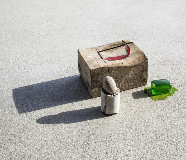 Ilán Rabchinskey, 'Wood, stone, concrete, chromatic filter, metal, gelatin #', 2017, Patricia Conde Galería
