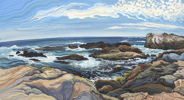 Phyllis Shafer, 'Whaler's Cove Point, Lobos', Stremmel Gallery