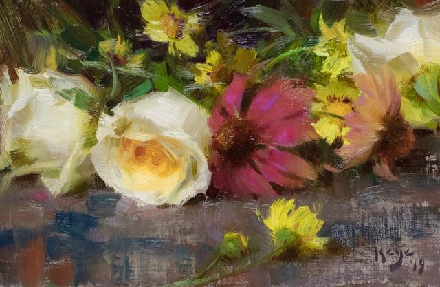 , 'Roses & Echinacea,' 2019, Gallery 1261