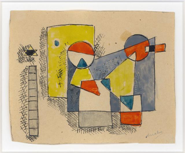 , 'Composition with Star,' 1936, Cecilia de Torres Ltd.