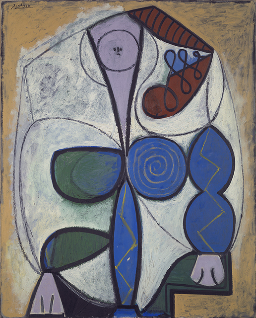 , 'Femme Assise,' 1947, Vancouver Art Gallery