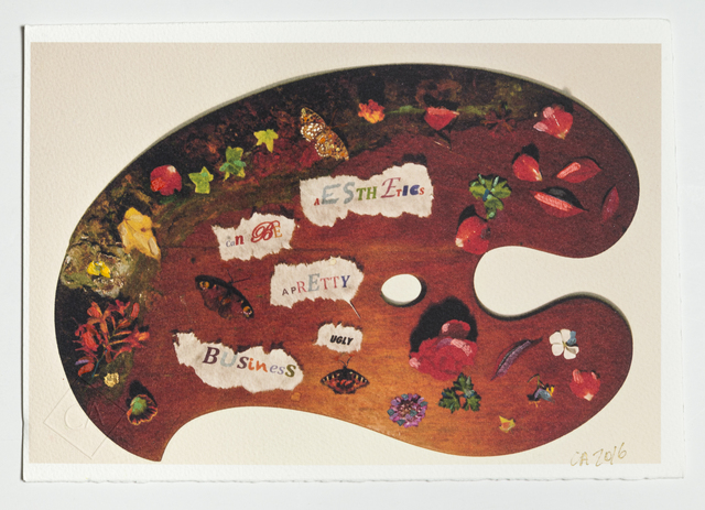 , 'Aesthetics Can Be a Pretty Ugly Business,' 2016, Ronald Feldman Fine Arts