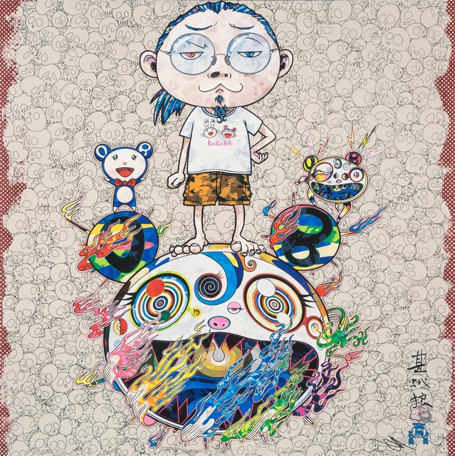 Takashi Murakami, 'Obliterate the Self and Even a Fire is Cool', 2013, Heritage Auctions