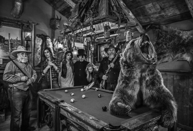 David Yarrow, 'The winner stays on', 2019, Galleri Fineart