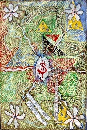 , 'Wounded Art,' 1974, Art Sales & Research, Inc.
