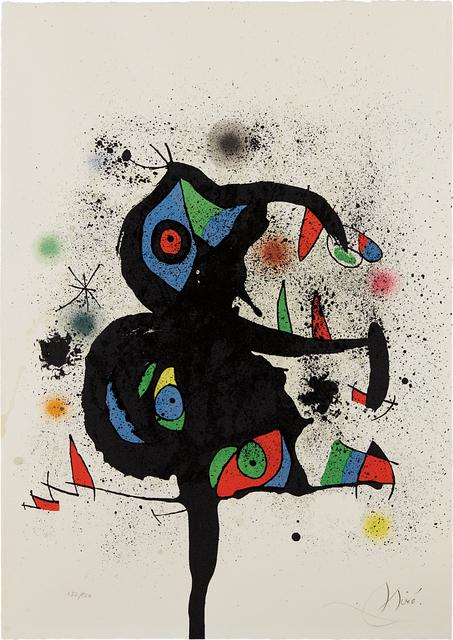 Joan Miró, 'Sculptures en montagne', 1972, Phillips
