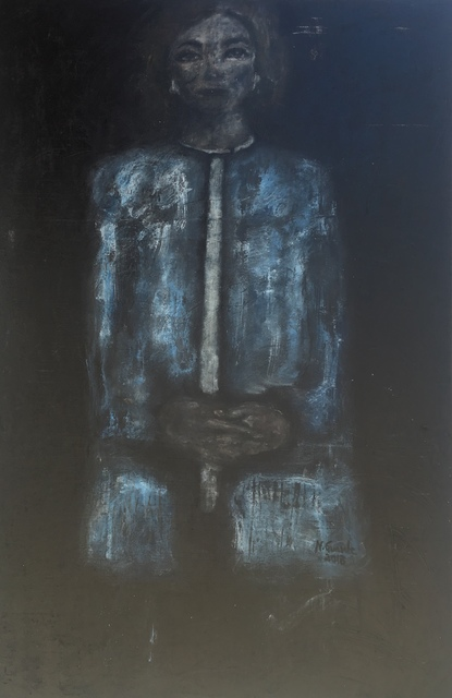 , 'Waiting ,' 2018, Ed Cross Fine Art