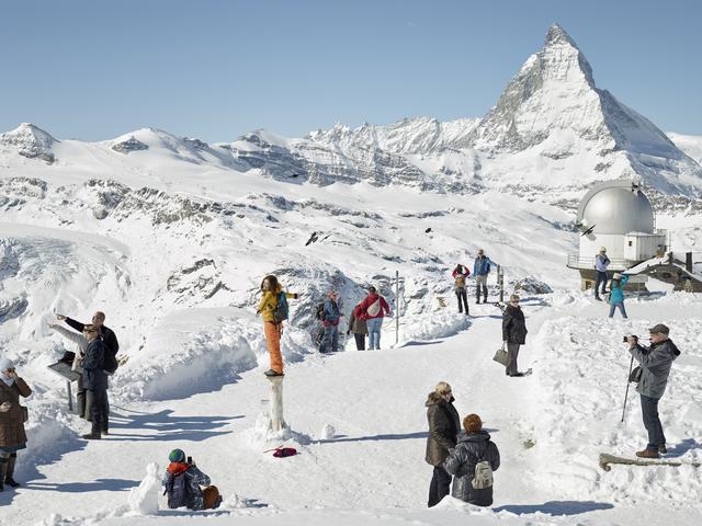 , 'Gornergrat, Zermatt, Switzerland,' 2016, Zeitgeist