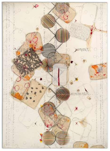 Alighiero Boetti, 'Senza Titolo (Dove Le Parallele Vanno Ad Incontrarsi...)', 1989, Ben Brown Fine Arts