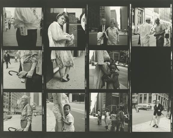 , 'VM19XXW03095 - Untitled, n.d. (Contact Sheet), Man with Cane,' Printed 2017, KP Projects