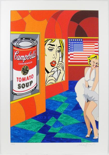Ugo Nespolo, 'Remember pop', 2010-2019, Print, Serigraphy and collage of silk-screened cardboard, La Maison de la Petite Sara