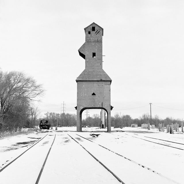 , 'Coaling Tower #65,' 2013, Robert Mann Gallery