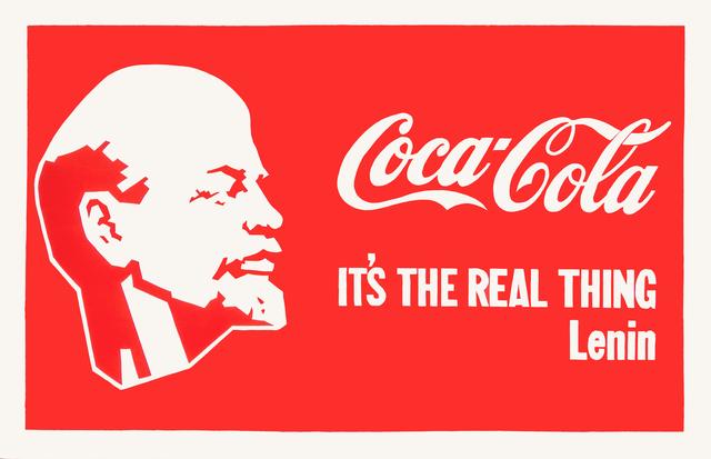 Alexander Kosolapov, 'Lenin-Coca-Cola', 1987, Painting, Acrylic on canvas, Galerie Sébastien Bertrand