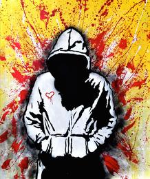 Skott Marsi, 'PollocklikeBanksy,' 2014, Fine Art Auctions Miami: Major Street Art