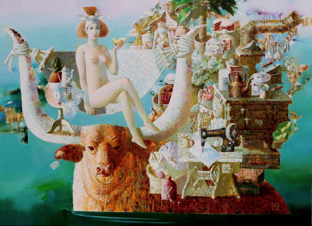 , 'Abduction of Europa,' 2015, REDSEA Gallery