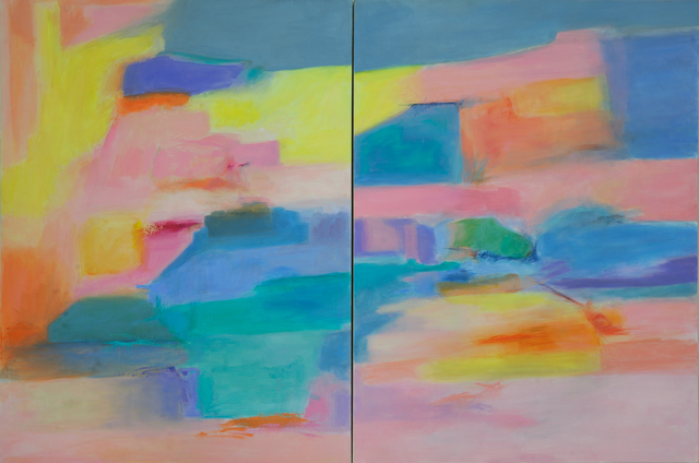 , 'Channel and Strait, Passages 5 & 6 (Diptych),' 2019, Artist's Proof