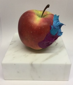 , 'Apple(cerulean blue & cobalt red purple),' 2018, SNOW Contemporary