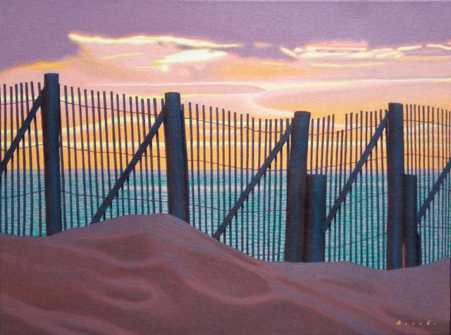, 'Sunset Fence,' 2010-2018, Eisenhauer Gallery