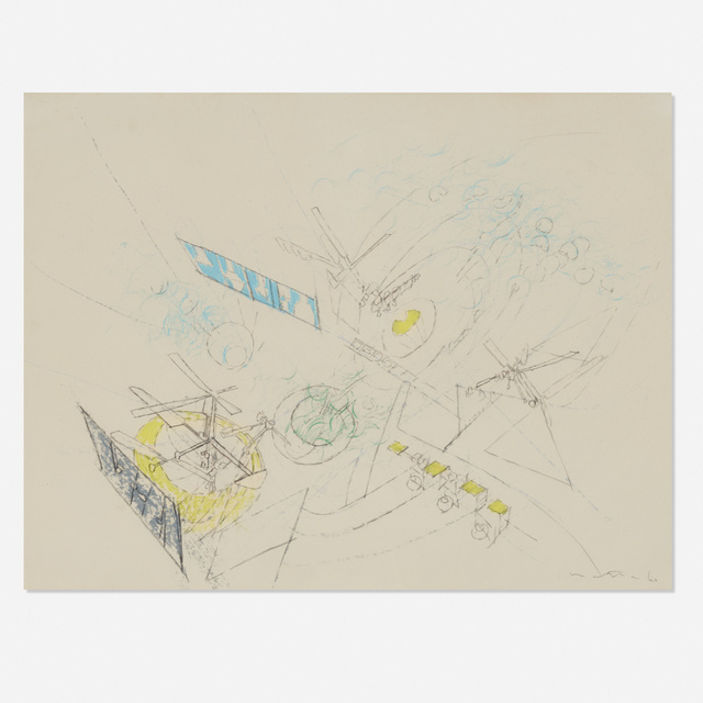 Roberto Matta, 'Study for a painting', 1960, New River Fine Art
